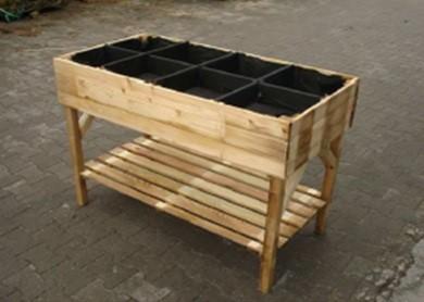 bac potager 8 compartiments. Black Bedroom Furniture Sets. Home Design Ideas